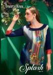 Vastrikaa splash vol 11 designer party wear ethnic Kurties Collection At Wholesale Rate