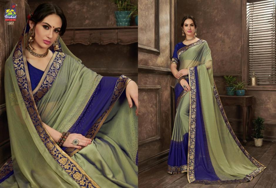 Vishal sarees eden vol 3 traditional Wear Stylish Printed sarees Collection Dealer