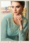 Arihant designer reevaz readymade gown kurties with bottom collection