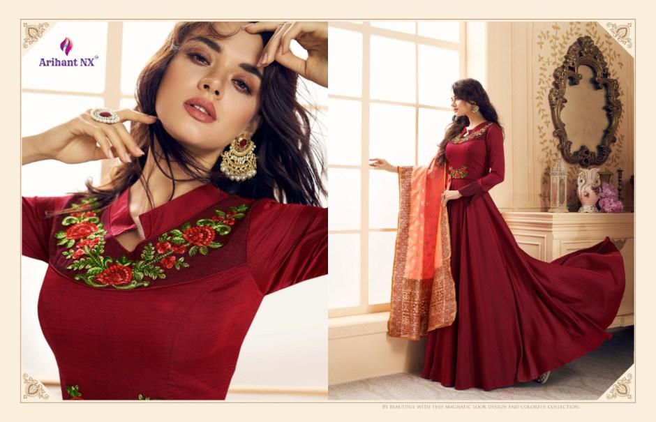 Arihant designer Rizwana vol 3 beautiful Designer ready To Wear Lehanga