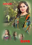 arize diva beautiful casual wear kurtis catalog