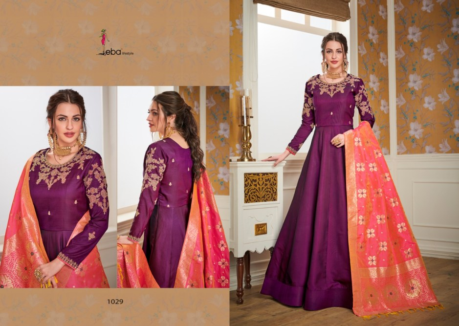 Eba lifestyle banaras vol 2 readymade party wear suits collection