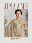 Jinaam milan 2 digital printed cotton suits collection