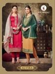 Kalarang creation Alvira beautiful Designer embroidered Salwar Kameez catalog