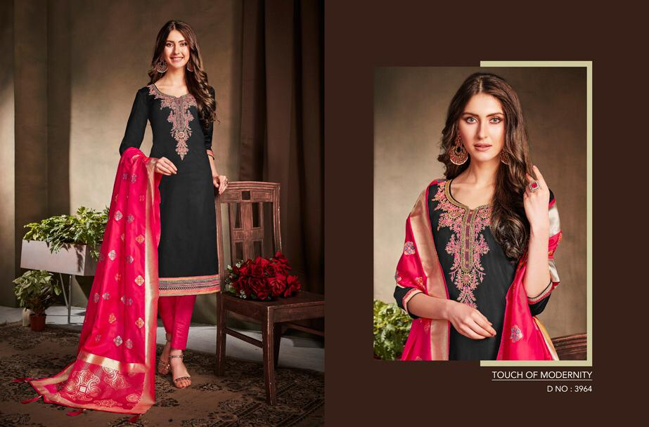Kessi virasaat vol 2 cotton embroidered Salwar Kameez Collection