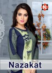 Neeti nazakat fancy tunic ready to wear rayon collection at wholesale rate