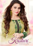 paridhan kasturi colorful casual wear suits catalog