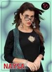 poorvi designer naysa coleful heavy designer kurtis collection
