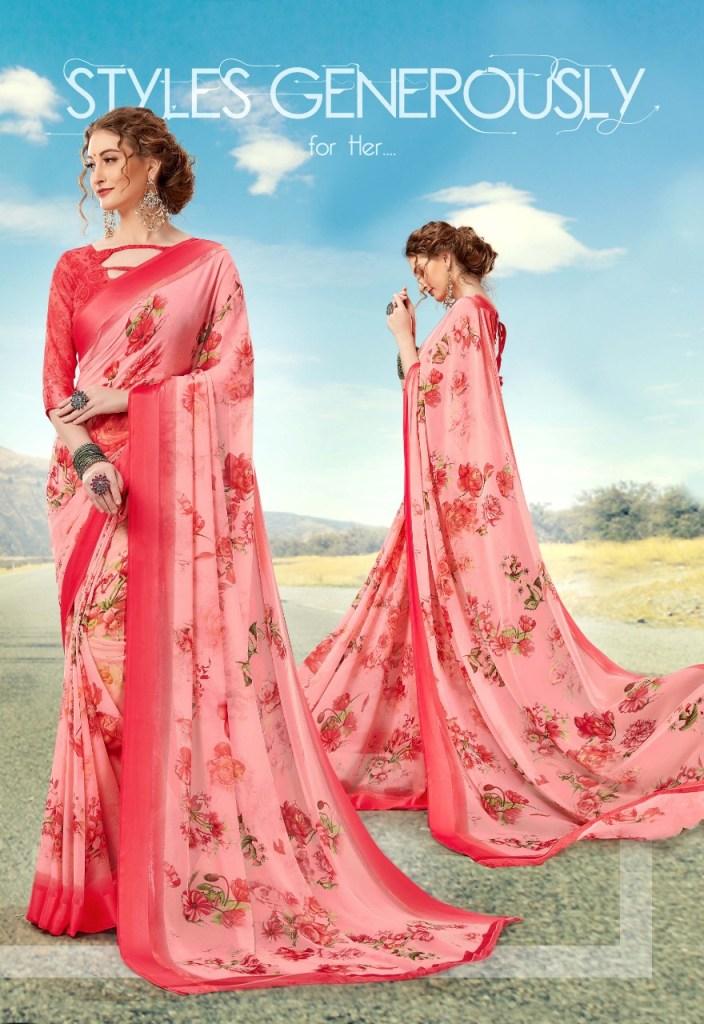 priya paridhi pashmina vol18 regular colorful sarees at reasonable wear