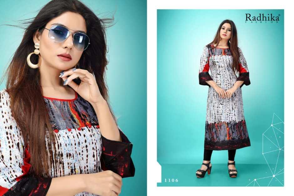 Radhika azara antra fany casual wear cotton Kurties Collection