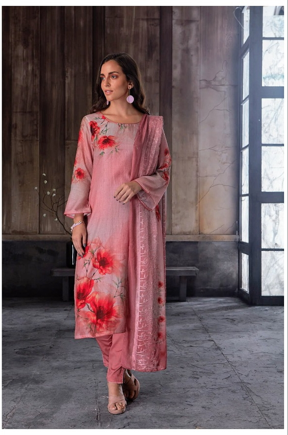 Reyna fabrics lady marmalade digital printed Salwar kameez Collection