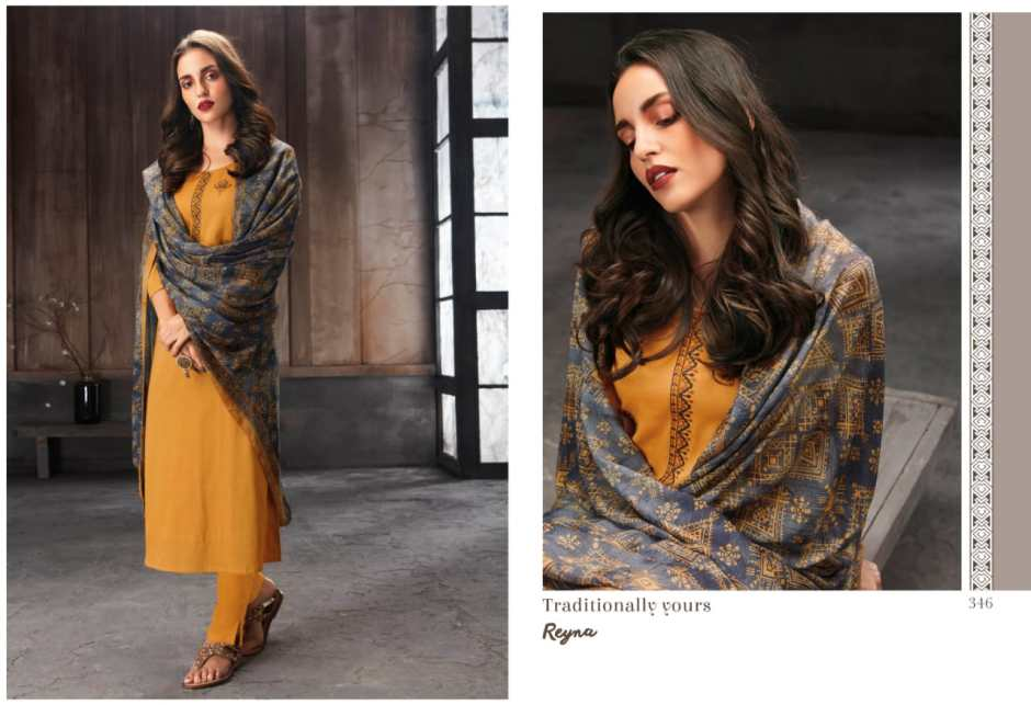 Reyna presents Traditionally yours salwar kameez collection at wholesale rate