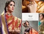 saroj parampara designer beautiful silk sarees