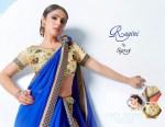 saroj ragini colorful regular wear sarees catalog