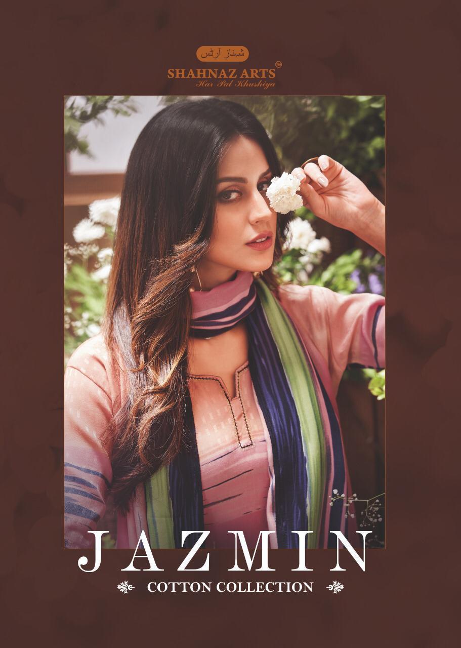 Shahnaz arts jazmin beautiful Designs fancy salwar Kameez Collection