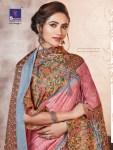 Shangrila Pashmina with shawl beautiful Colours sarees Collection Dealer