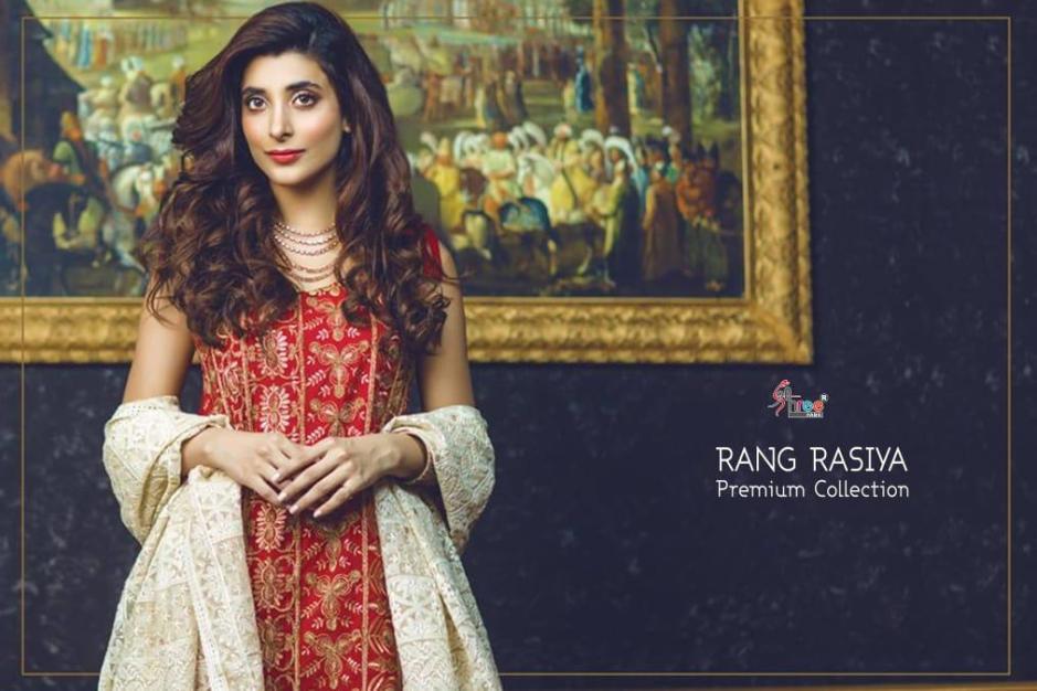 Shree Fabs rang rasiya premium wedding Wear Designer suits collection