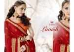 triveni lavish colorful regular wear sarees catalog at reasonable rate