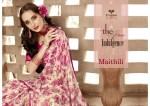 triveni maithili colorful printed casual wear sarees
