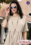 vitara fashion armani colorful casual wear kurtis collection at reasonable rate