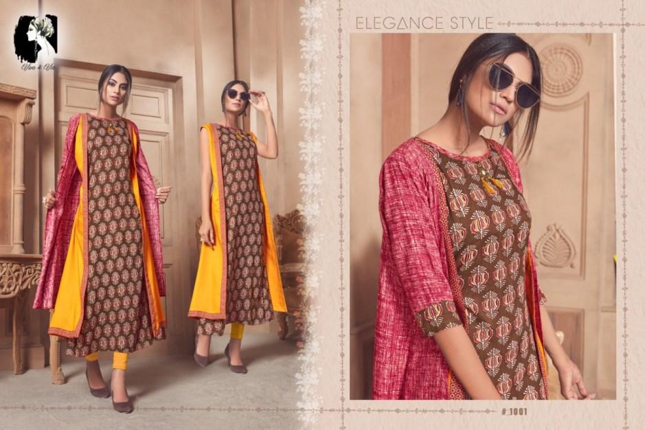 Viva and Via Jessy fancy ready To Wear stylish Kurties Collection