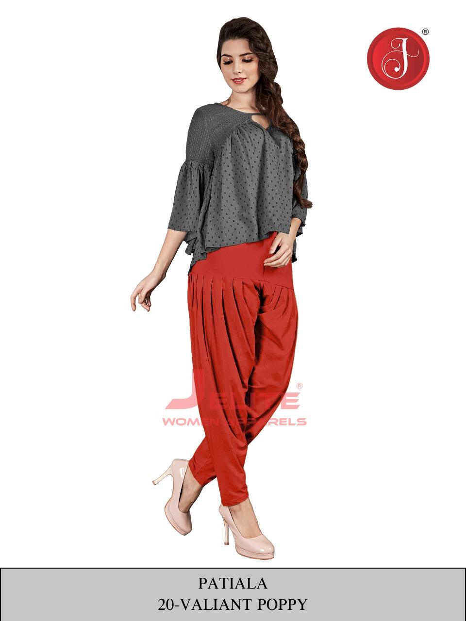 jelite patiala colorful casual bottom wear catalog at reasonable rate