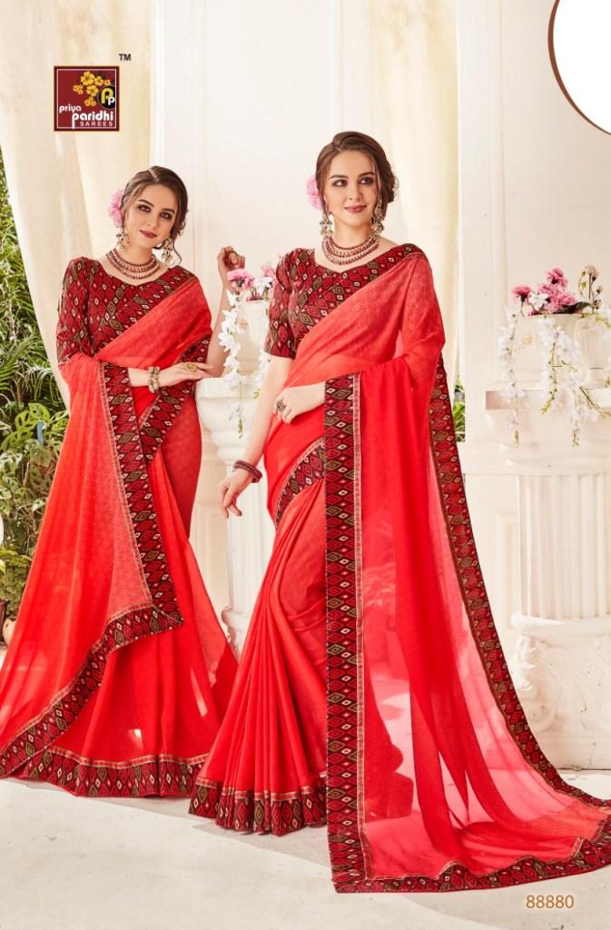 priya paridhi pari beautiful fancy collection of sarees at reasonable rate