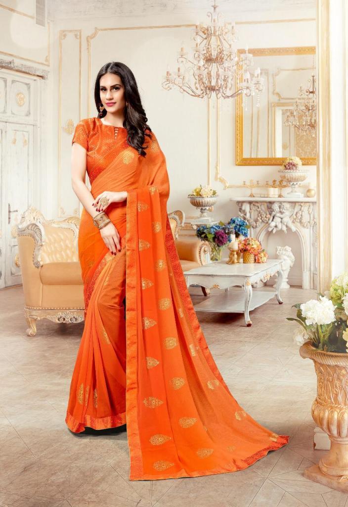 priya paridhi suhani colorful fancy casual wear sarees catalog