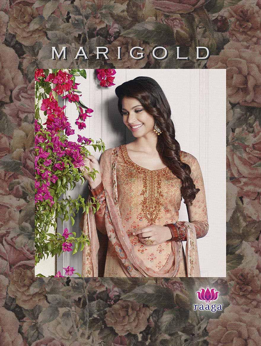 raaga marigold beautiful fancy collection of salwaar suits
