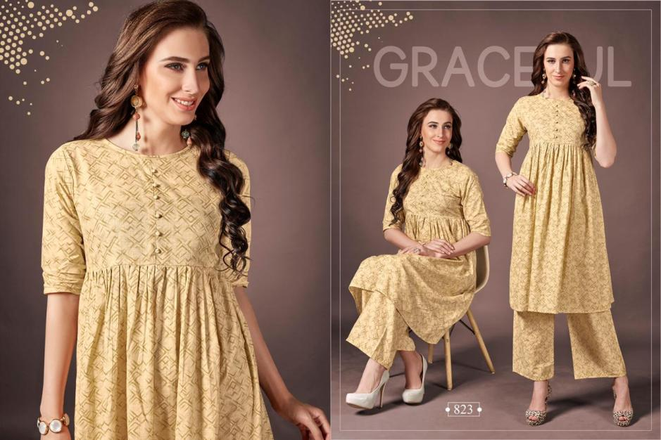 rani trendz seven star fancy kurtis collection at wholesale rate