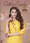 s4U cotton candy casual wear kurtis catalog at reasonable rate