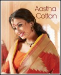 shangrila aastha cotton beautiful casual wear sarees collection