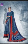 shangrila nainika chiffon colorful casual wear sarees catalog