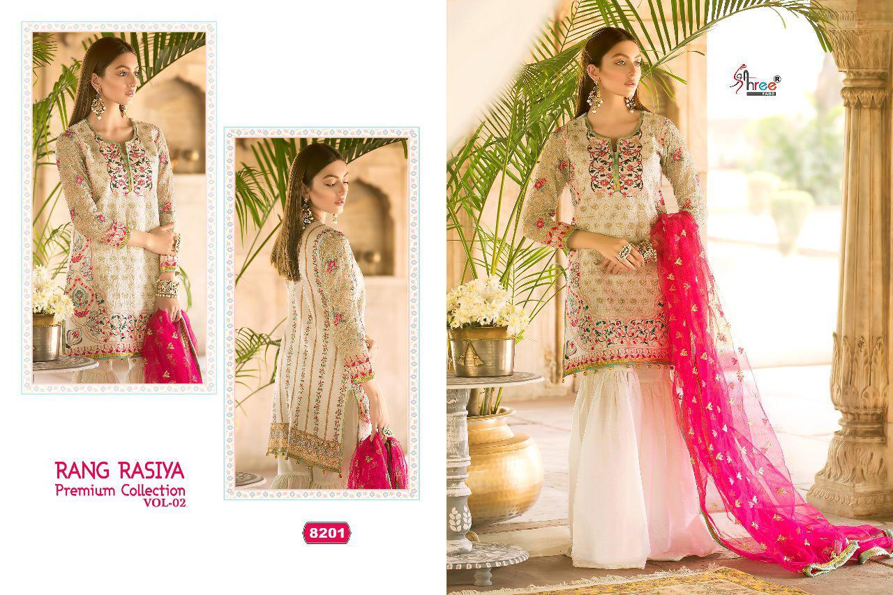 c13ca09948 shree fabs rang rasiya premium collection vol 2 fancy collection of salwaar  suits at reasonable rate