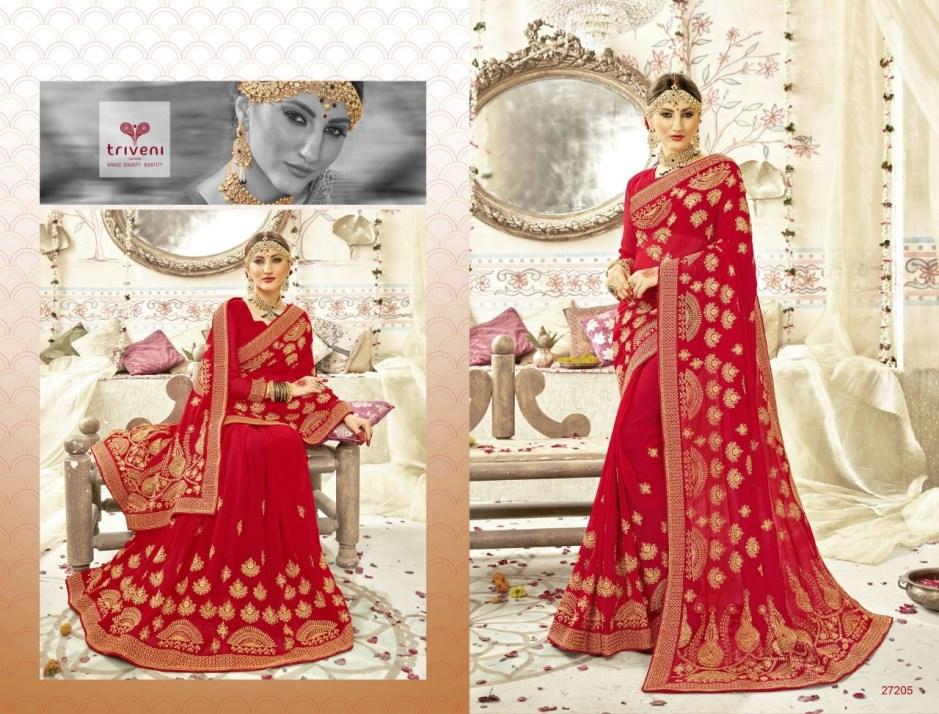 triveni abhinandan beautiful desginer collection of sarees