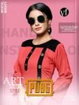 VEE fab india pubg colorful casual wear kurtis catalog at reasonable rate