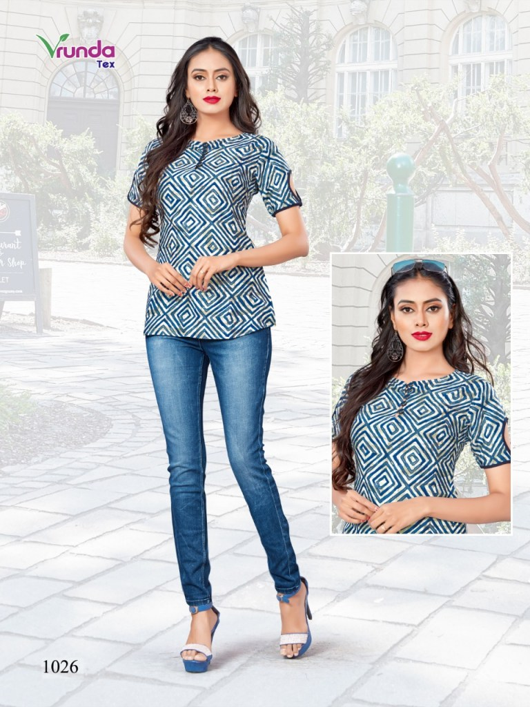 veunda tex griva colorful short tops catalog at reasonable rate