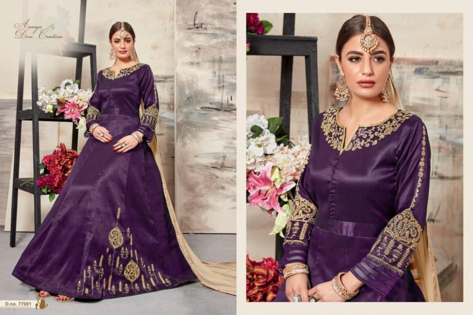 vishal prints aanya 77000 series ( vol 77) colorful fancy kurtis collection at reasonable rate
