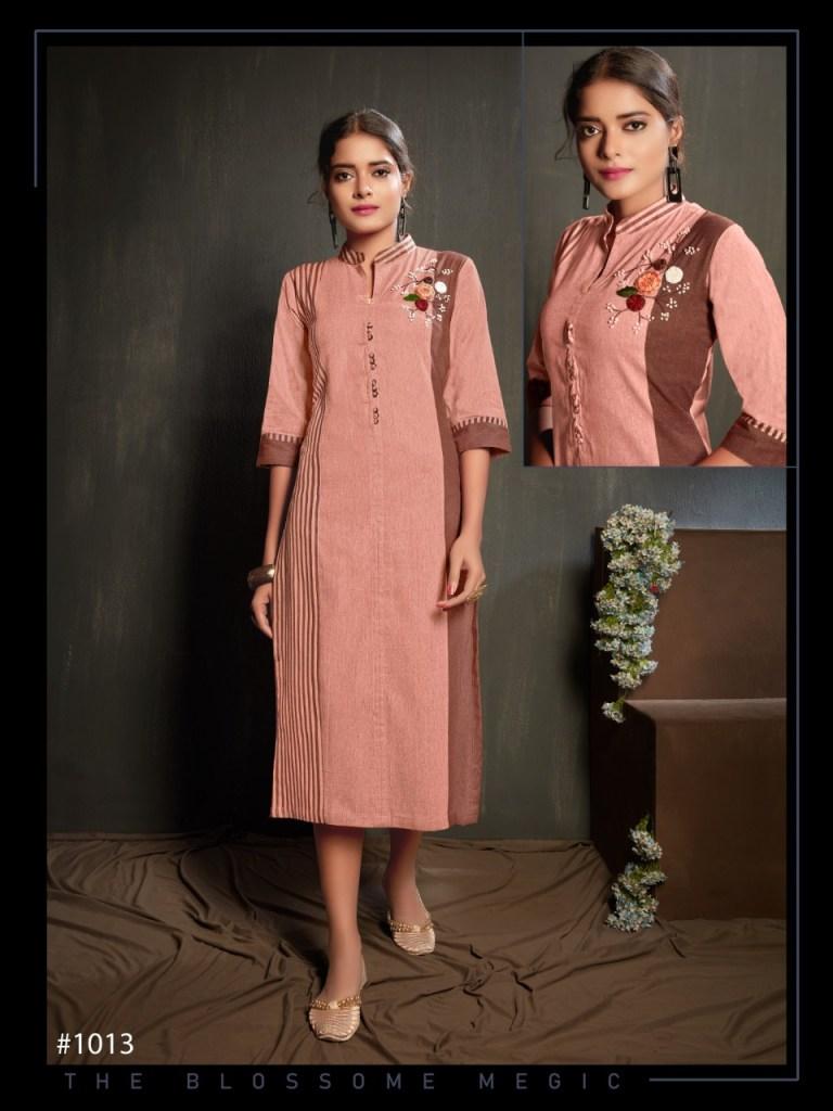 7 beauty reetee colorful casual wear kurtis catalog at reasonable rate