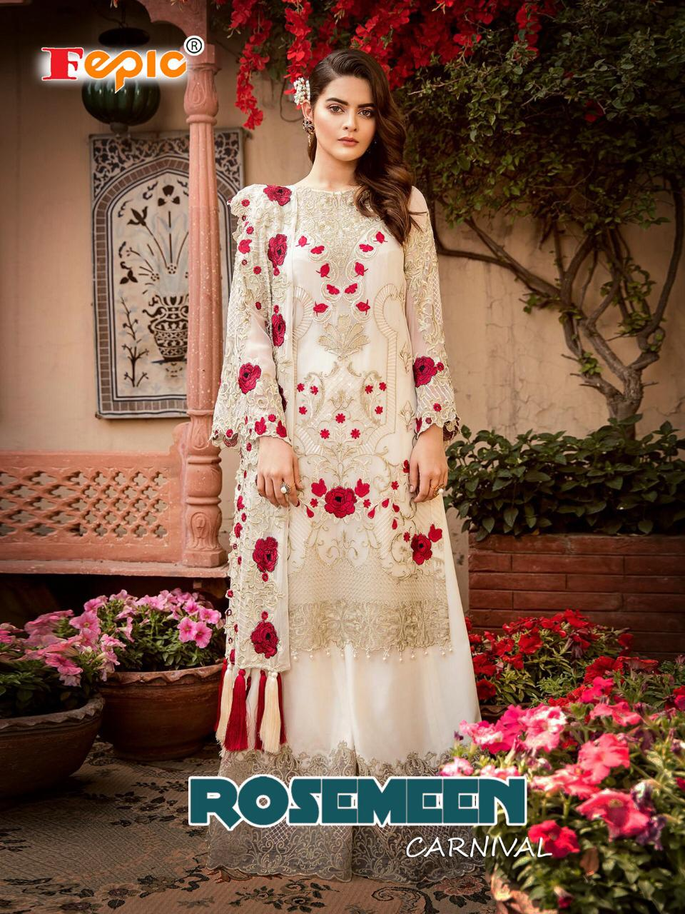 fepic rosemeen carnival colorful fancy collection of salwaar suits