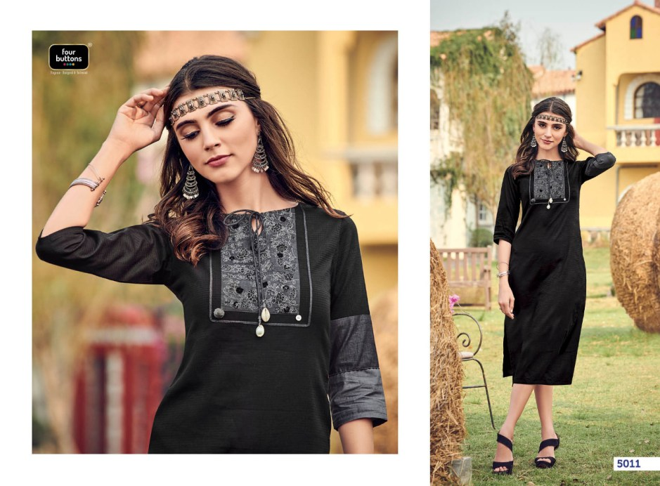 four buttons colors 2 colorful fancy collection of kurtis