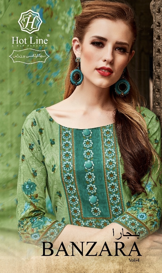 hotline banzara vol 4 colorful fancy collection of salwaar kameez