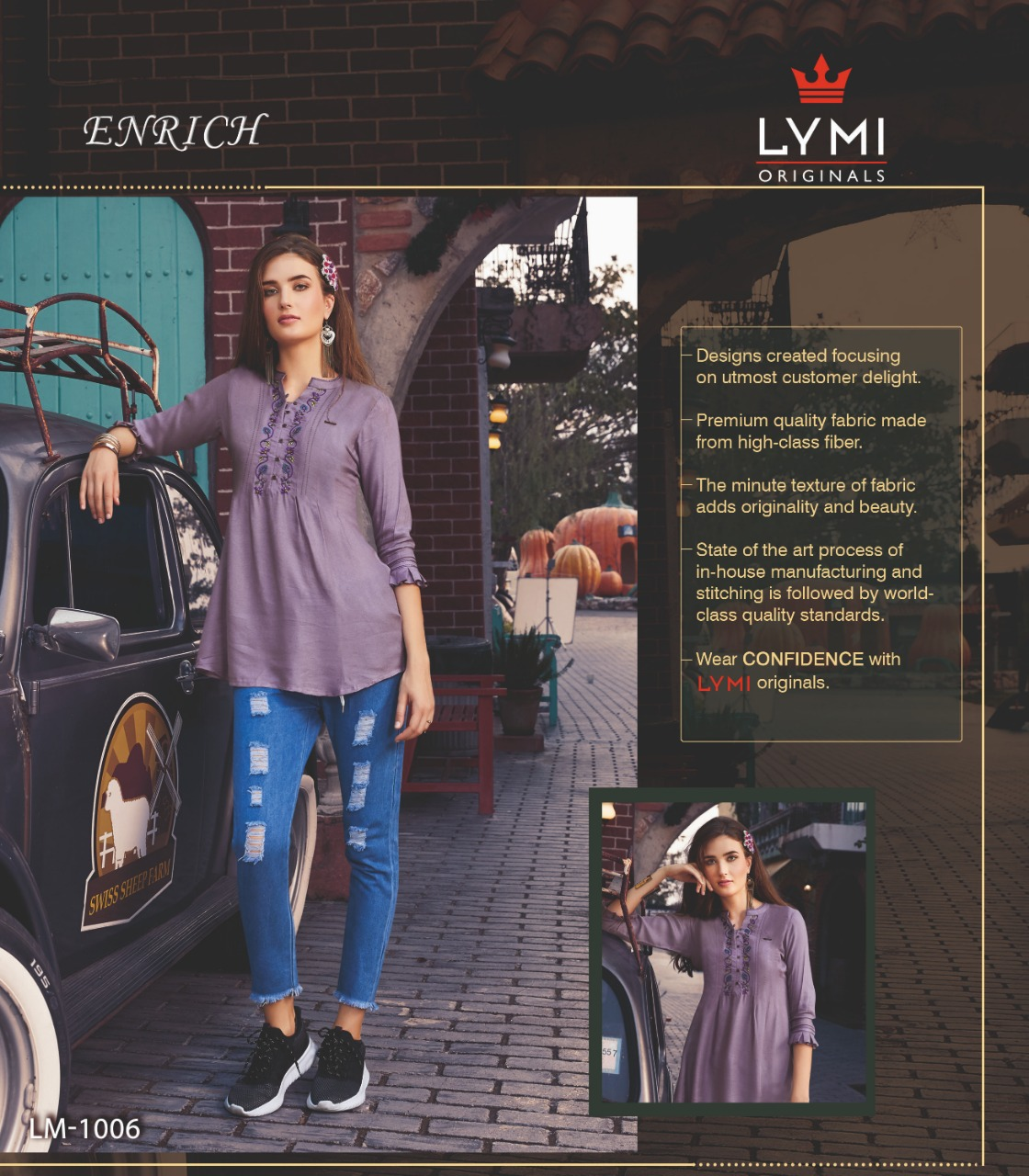 9758a4400c lymi enrich beautiful fancy collection of short kurtis at resonable rate