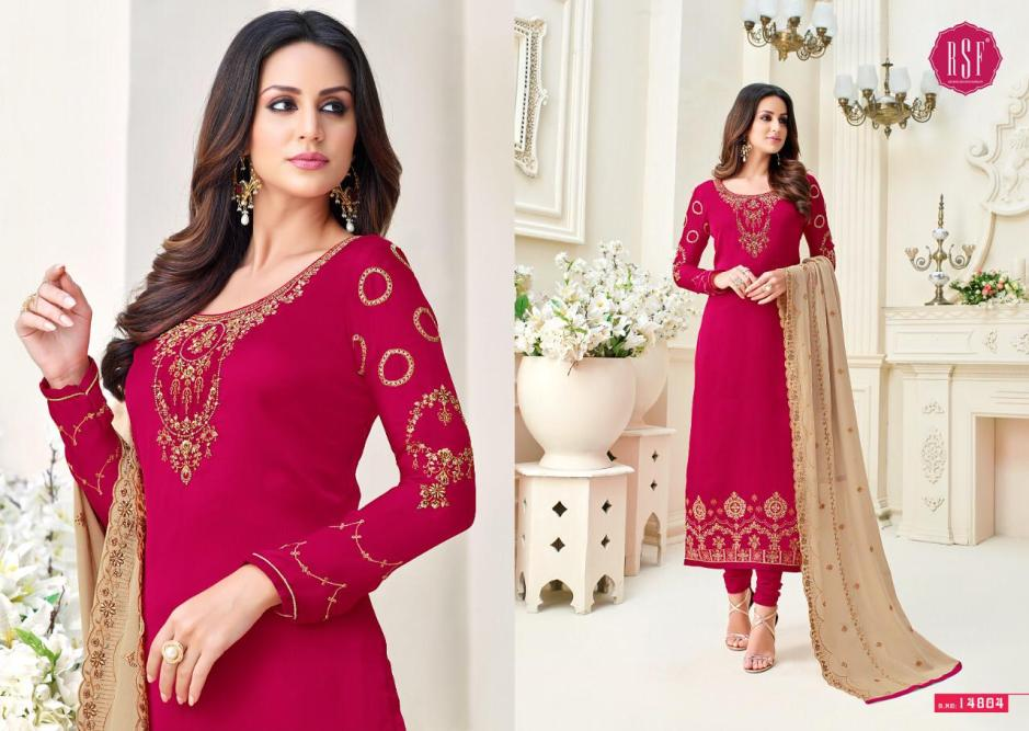 rsf nazrana colorful fancy collection of salwaar suits