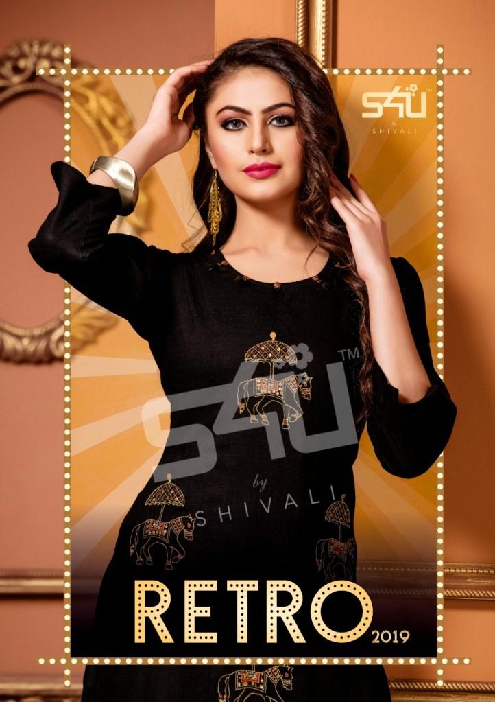 s4U retro 2019 colorful casual wear kurtis at reasonable rate