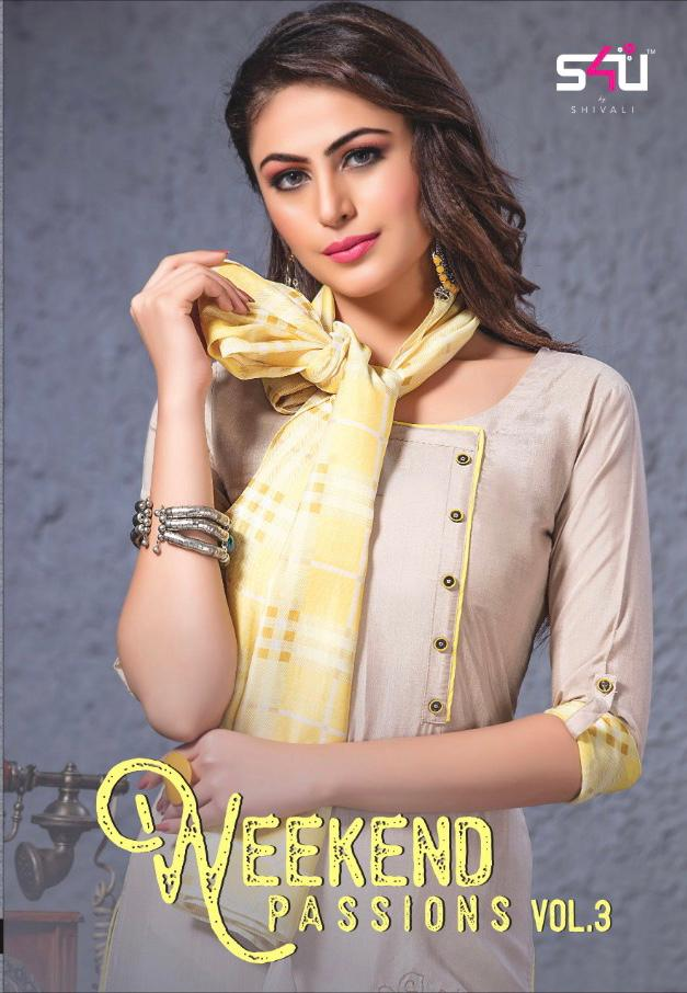 d2c4501b7c s4U weekend passion vol 3 beautiful collection of kurtis at reasonable rate