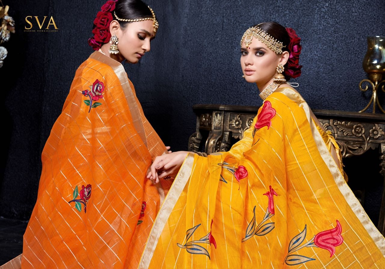 sVA panalal 3 colorful fancy collection of salwaar suits