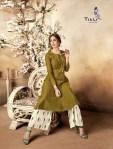 titli signature colorful fancy ready to wear kurtis catalog