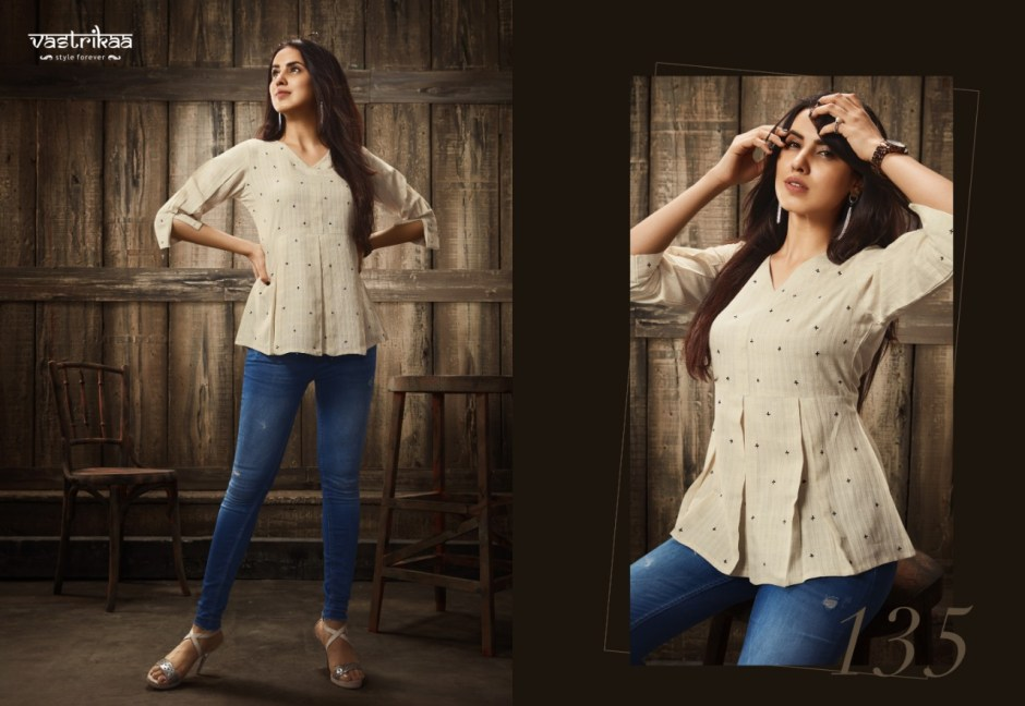 vastrikaa senses tops colorful casual wear tops at reasonable rate