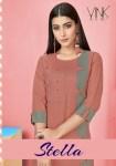 vink stella colorful ready to wear kurtis catalog at reasonable rate